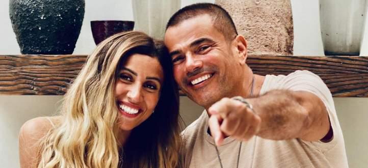 """تامر أمين لـ دينا الشربيني :""""عمرو دياب مبيغلطش وميصحش يتقال الكلام دا من زوجة""""-بالفيديو"""