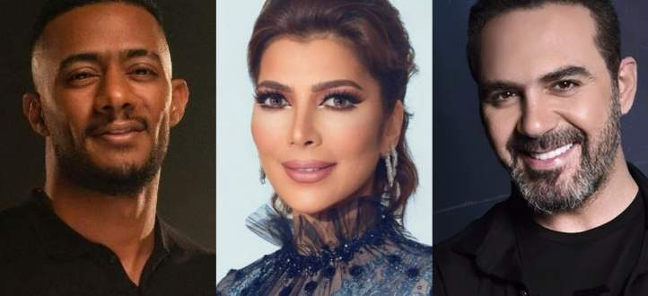 وائل جسار يتصدّر المرتبة الأولى.. ومنافسة بين أصالة ومحمد رمضان