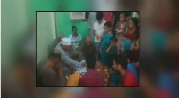 وفاة مأذون شرعي بعد عقد قران ابنته ..بالفيديو