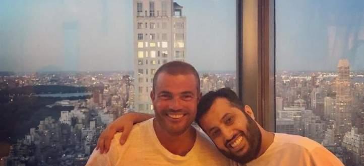 عمرو دياب يفاجئ تركي آل الشيخ بهذا الطلب والأخير يمازحه