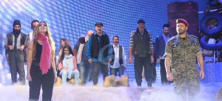 """يوسف الخال وكارين رميا في """"الطائفة 19"""" قريباً.. بالفيديو"""