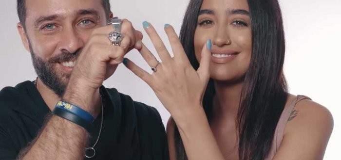 زوج نينا عبد الملك كان شاركها في هذا الفيديو كليب