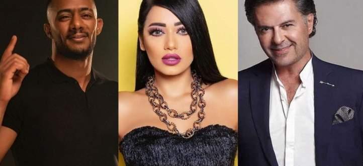 سباق بين رحمة رياض وراغب علامة ومحمد رمضان .. شاهدوا من تصدّر