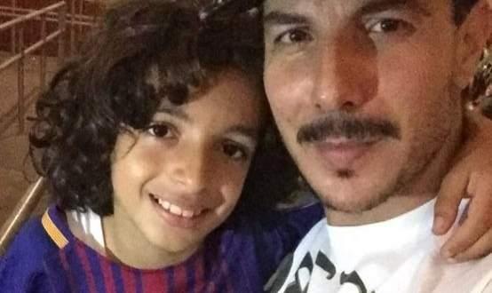 شاهدوا باسل خياط يرقص مع ابنه في وسط الطريق - بالفيديو