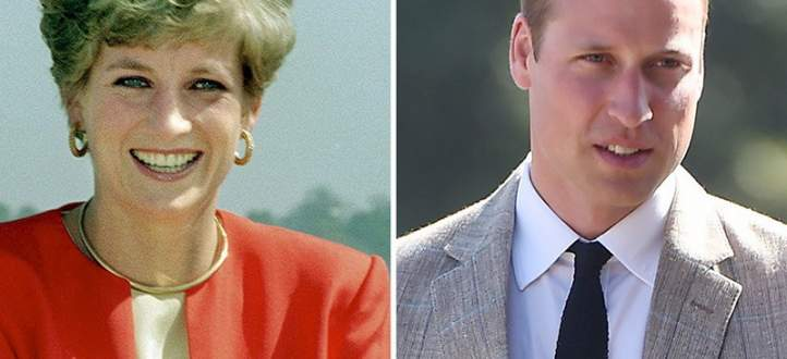 فيديو نادر لـ الأمير وليام وهو يضع الماكياج لوالدته الأميرة ديانا