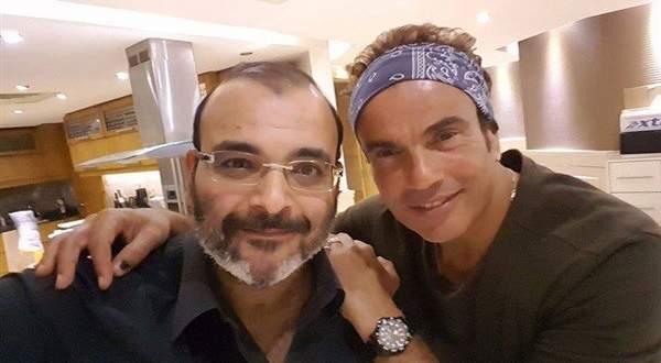 عمرو دياب يكشف موقفه من إعتزال أيمن بهجت قمر - بالفيديو