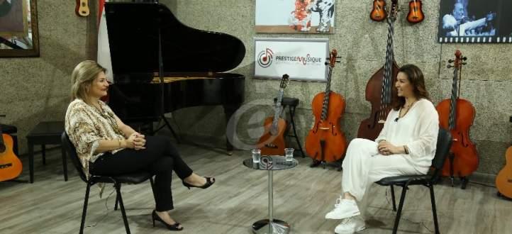 خاص بالفيديو- جيهان قمري: سعيدة أنني أعيش في مصر وحزينة على لبنان