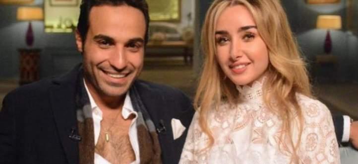 هنا الزاهد تكشف عن شعورها الغريب تجاه زوجها أحمد فهمي.. بالفيديو