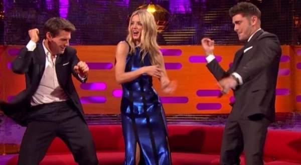 توم كروز يظهر مهاراته في الرقص.. بالفيديو