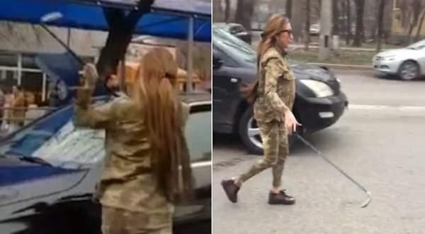 ممثلة تحطم سيارة المنتج بسبب مشاهد فاضحة .. بالفيديو