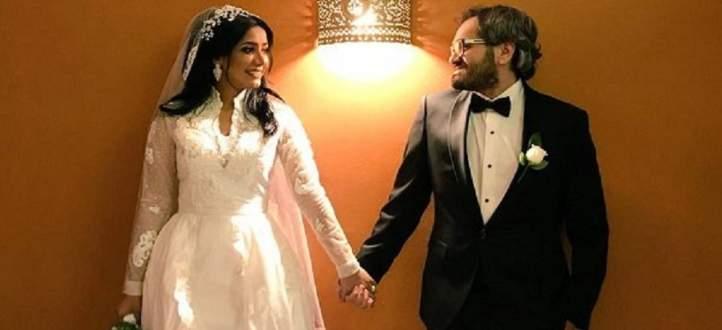 قبلة زوج مروة سالم لها تثير الجدل في السعودية - بالفيديو