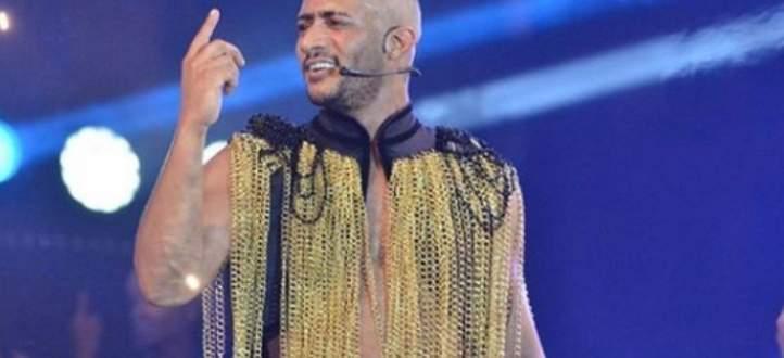 ظهور محمد رمضان نصف عار وسوء تنظيم حفله يعرضانه لانتقادات-بالفيديو