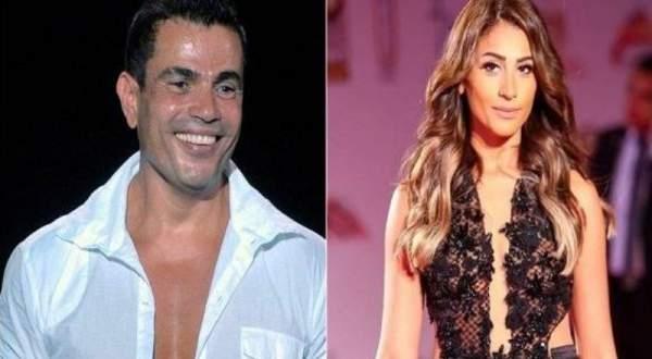 بالوثائق ...هذه هي حقيقة زواج عمرو دياب ودينا الشربيني!