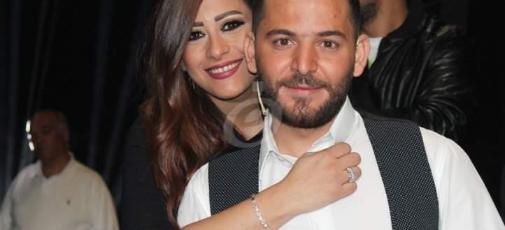 إمارات رزق وحسام جنيد معا نفيا لإشاعات طلاقهما...بالفيديو