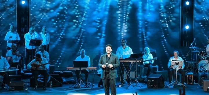 خاص بالفيديو-ملحم زين في طرابلس يغني ويتألق ويبقى