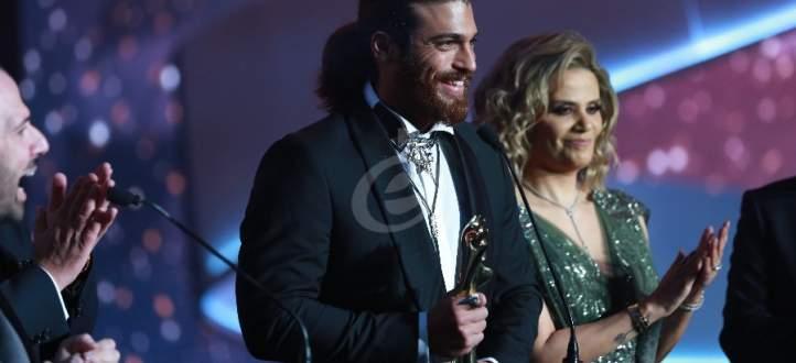 """خاص بالفيديو- الـ""""موريكس دور"""" جائزة ذهبية لـ إيمانويل بيار وجان يامان ودانييلا رحمة وغيرهم"""