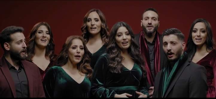 """جورج وعبير نعمة وأخوتهما يجتعمون في """"رح نرجع"""".. بالفيديو"""