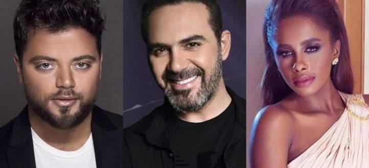 عامر زيان يسابق وائل جسار وداليا مبارك تنافس بقوّة