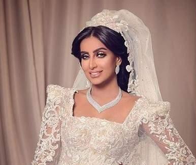 العنود الحربي تنشر أول صورة حفل زفافها الذي أثار الجدل