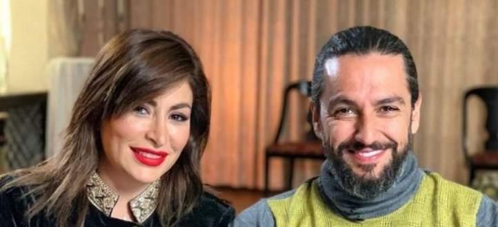 رومانسية ديما بياعة وزوجها في حفل شيرين عبد الوهاب تشعل السوشيال ميديا- بالفيديو
