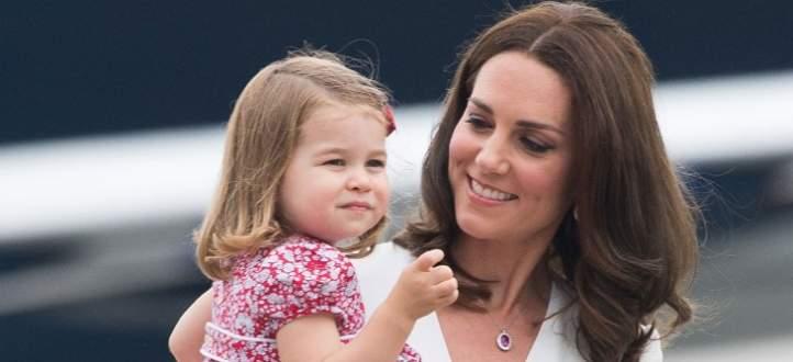 كيت ميدلتون وإبنتها الأميرة شارلوت تتشاركان هذه الصفات.. إكتشفوها - بالفيديو