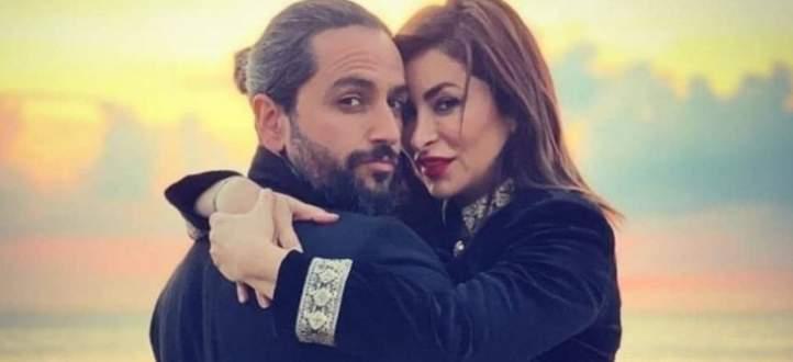 زوج ديما بياعة يحسم الجدل حول حقيقة إنفصالهما-بالفيديو