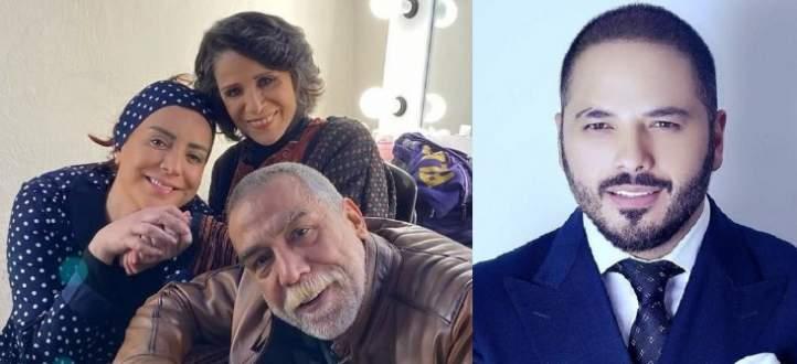 """موجز """"الفن"""": رامي عياش يسأل عن هوية """"الممثل الأهبل"""".. وسامية الجزائري وأيمن رضا وشكران مرتجى معاً بعد 23 عاماً"""