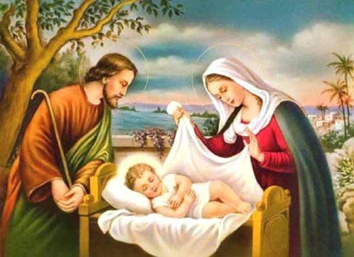 ميلاد الطفل يسوع إله المحبة