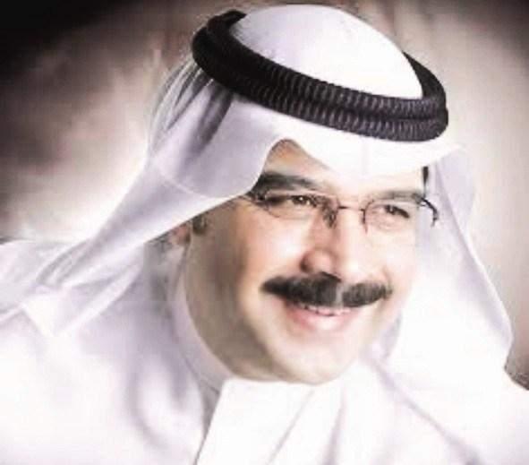 محمد المسباح مذيع لأول مرة على شاشة تلفزيون الكويت