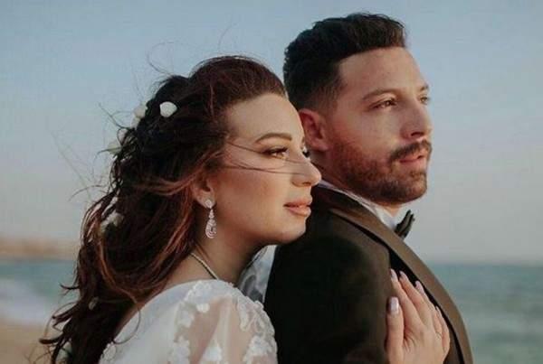 لماذا بكت أسما شريف منير في زفافها؟ بالصورة