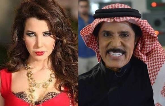 عبد الله بالخير يفاجئ نانسي عجرم ويرقص معها على المسرح بالفيديو