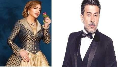 عابد فهد وزوجته في ضيافة سوزان نجم الدين- بالفيديو