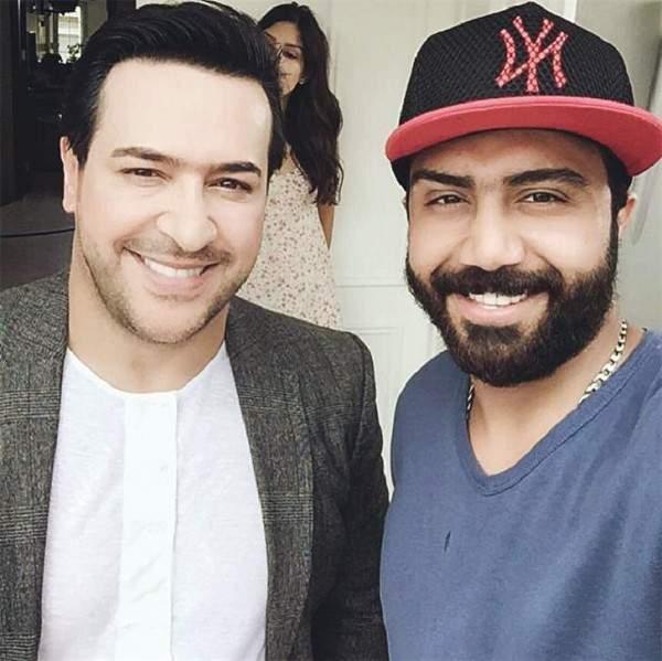 """رضا العبد الله ينتهي من تصوير كليب """"تعال"""""""