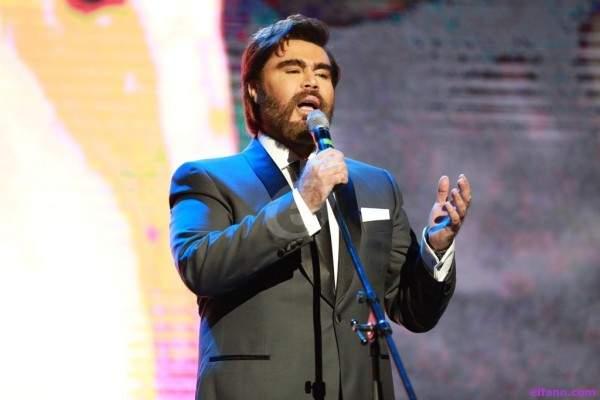 غسان سالم يغني راغب علامة ويكرّم الياس الرحباني