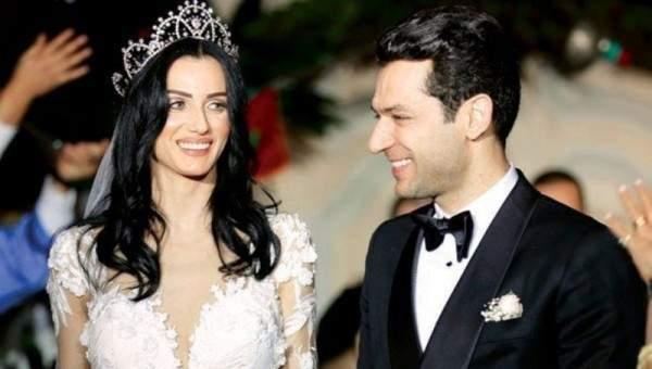مراد يلدريم يفتعل مقلباً طريفاً بزوجته-بالفيديو