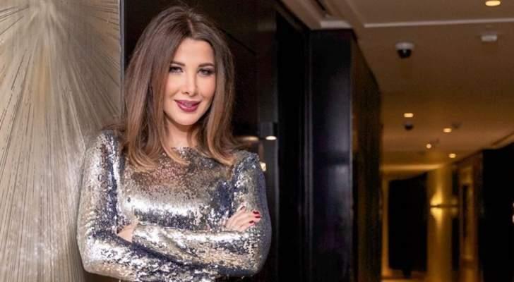 نانسي عجرم تشعل الأجواء بحفل عيد الحب في القاهرة.. بالفيديو