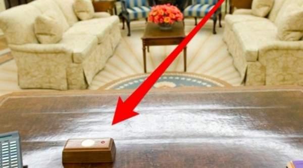 لهذا السبب يوجد الزر الأحمر على مكتب الرئيس الأميركي
