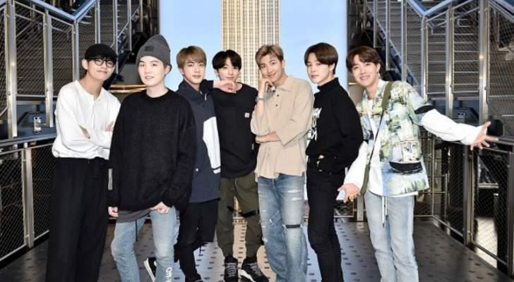 إنجاز جديد لفرقة BTS وهذه التفاصيل