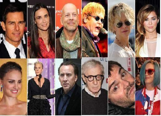 اكتشف الأسماء الحقيقية للعديد من المشاهير العالمية