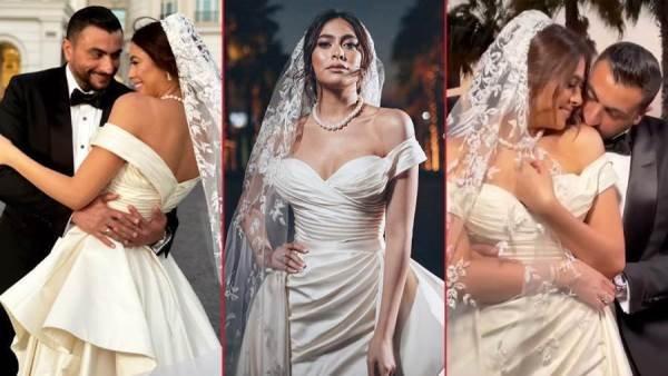 الكشف عن  سعر فستان زفاف هاجر أحمد.. الرقم كبير!!