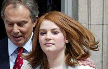 ابنة طوني بلير تتعرض لمحاولة سرقة تحت تهديد السلاح وسط لندن