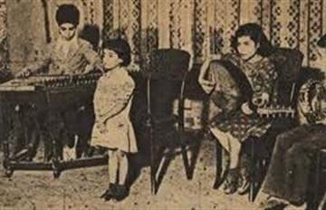 صورة نادرة لنجاة الصغيرة في السادسة من عمرها