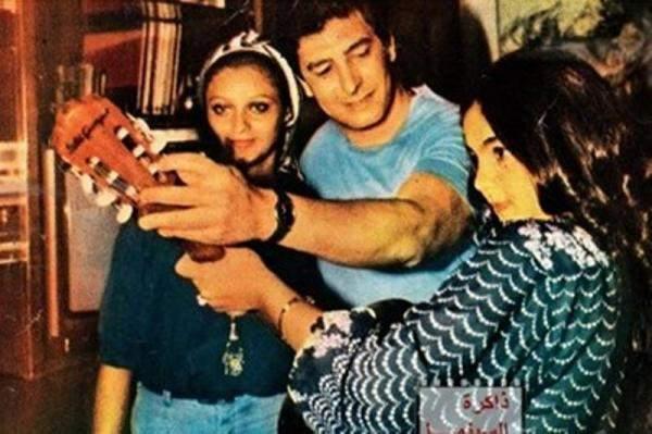 شريهان وشقيقها عمر خورشيد في آخر صورة جمعتهما