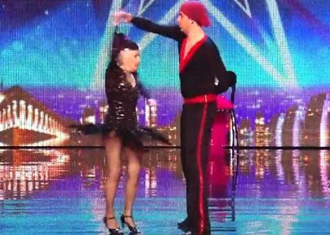 بريطانية في الـ 79 تبهر britain's got talent بالرقص .. بالفيديو
