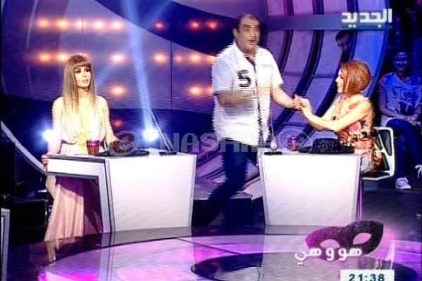 """رواد رعد يطلب يد زينة زيادة على الهواء.. يمنى شري: """"شايفي حالي وما مصدقة"""""""