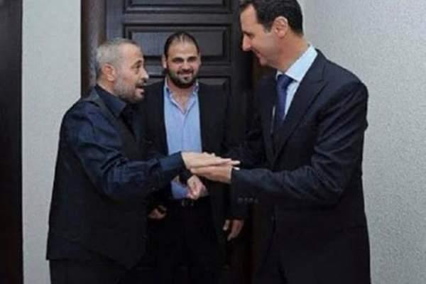 جورج وسوف يزور بشار الأسد لتهنئته.. بالصور