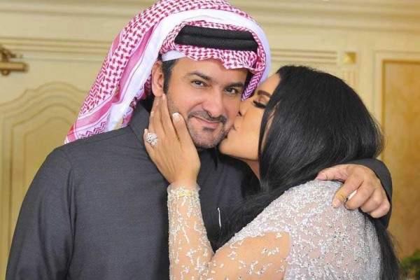 """مبارك الهاجري لزوجته أحلام: """"وعيني تراك اجمل زوجه.."""""""