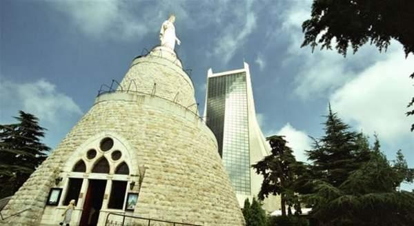 رتبة الغسل في بازيليك سيدة لبنان بحضور ومشاركة أهل الفن والاعلام