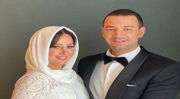 """خاص """"الفن""""- حلا شيحة تتخذ هذا القرار مع زوجها معز مسعود"""