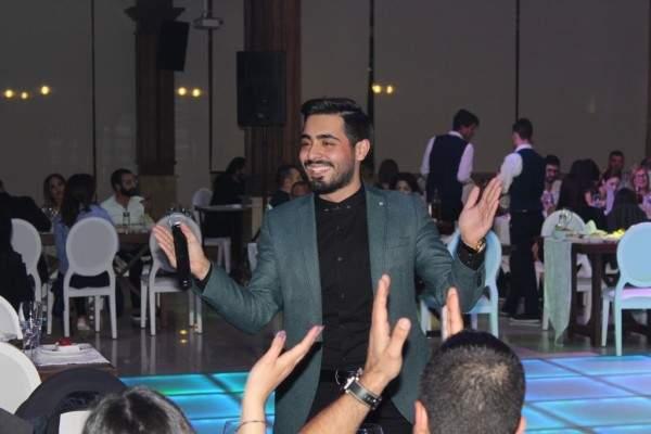 إياد يحتفل بعيد الفصح بين عاليه والبترون
